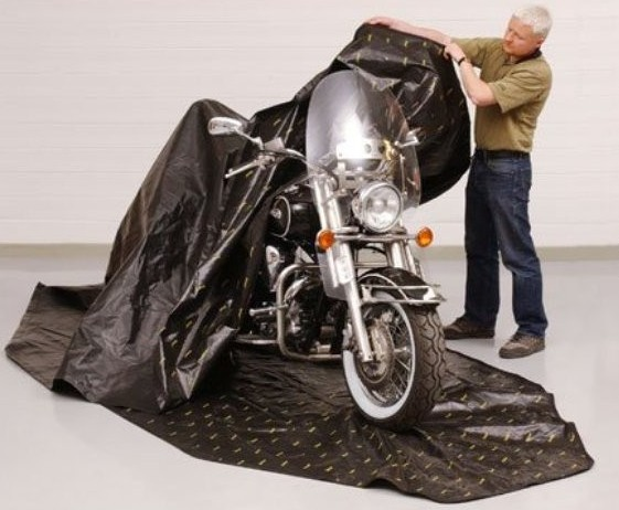 Zerust Motorcycle Bag Cover