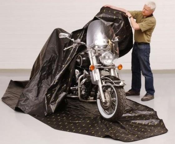 Zerust Motorcycle Bag Cover