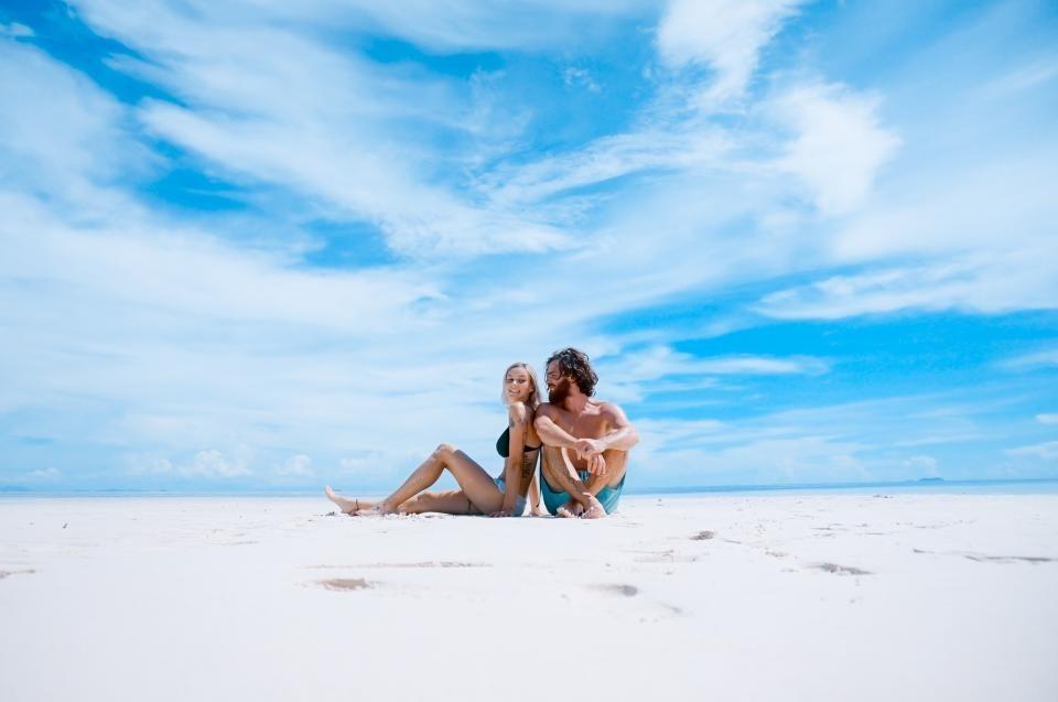 Australian Beach Relaxing