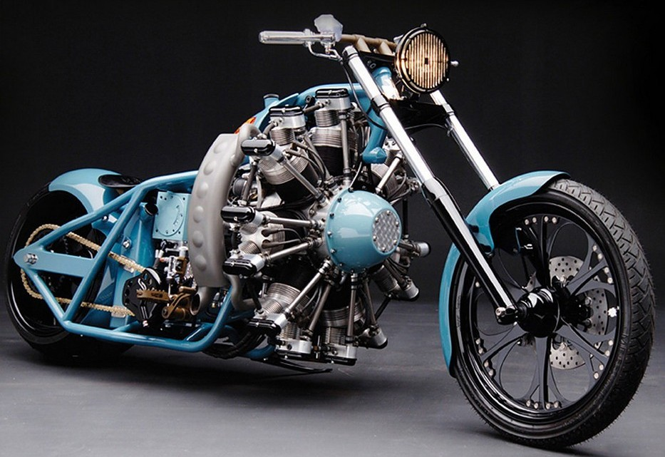 Radial Hell Radial Engine Motorcycle