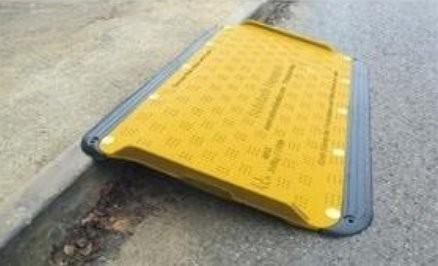 Oxford Plastics Wheelchair Safe Kerb Ramp