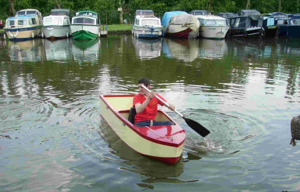 Ural Sidecar Boat