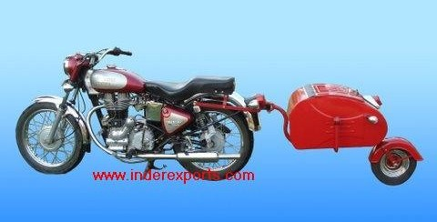 Inder Exports Motorcycle Luggage Trailer