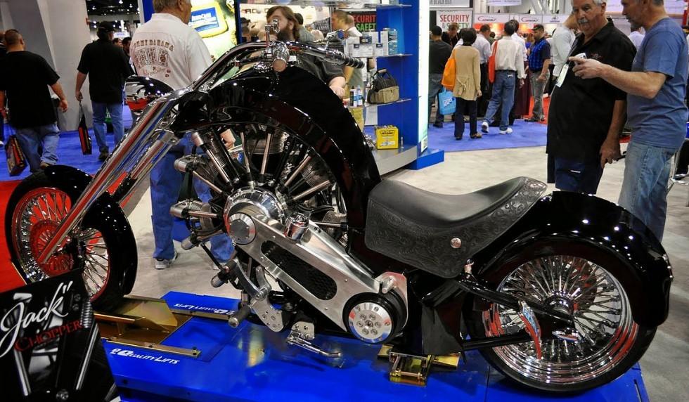 Black Jack Radial Engine Motorcycle