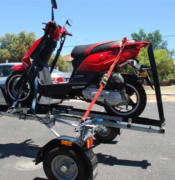 FMT Folding Motorcycle Trailer