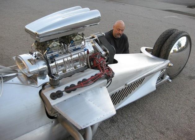 Tim Cotterill Huge Motor Trike