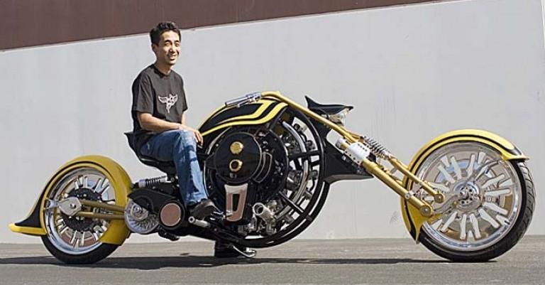 Iron Gatsby Radial Engine Motorcycle