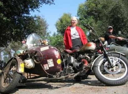 Parallelogram Motorcycle Sidecar Combination