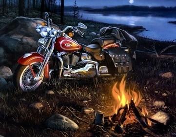 Motorbike Campfire