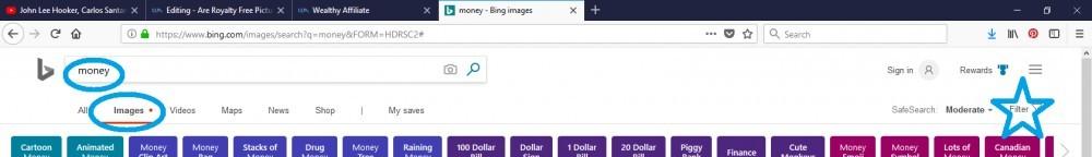 Bing free images