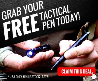 Free Tactical Pen