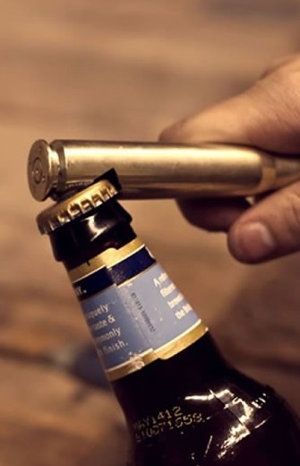 The Free Bullet Bottle Opener