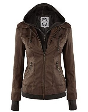 LL Womens Faux Jacket