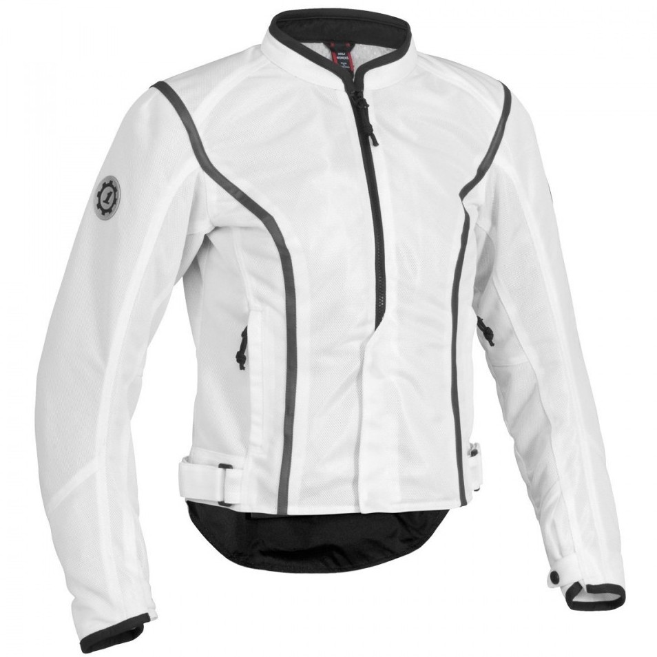 Women's White Mesh Jacket