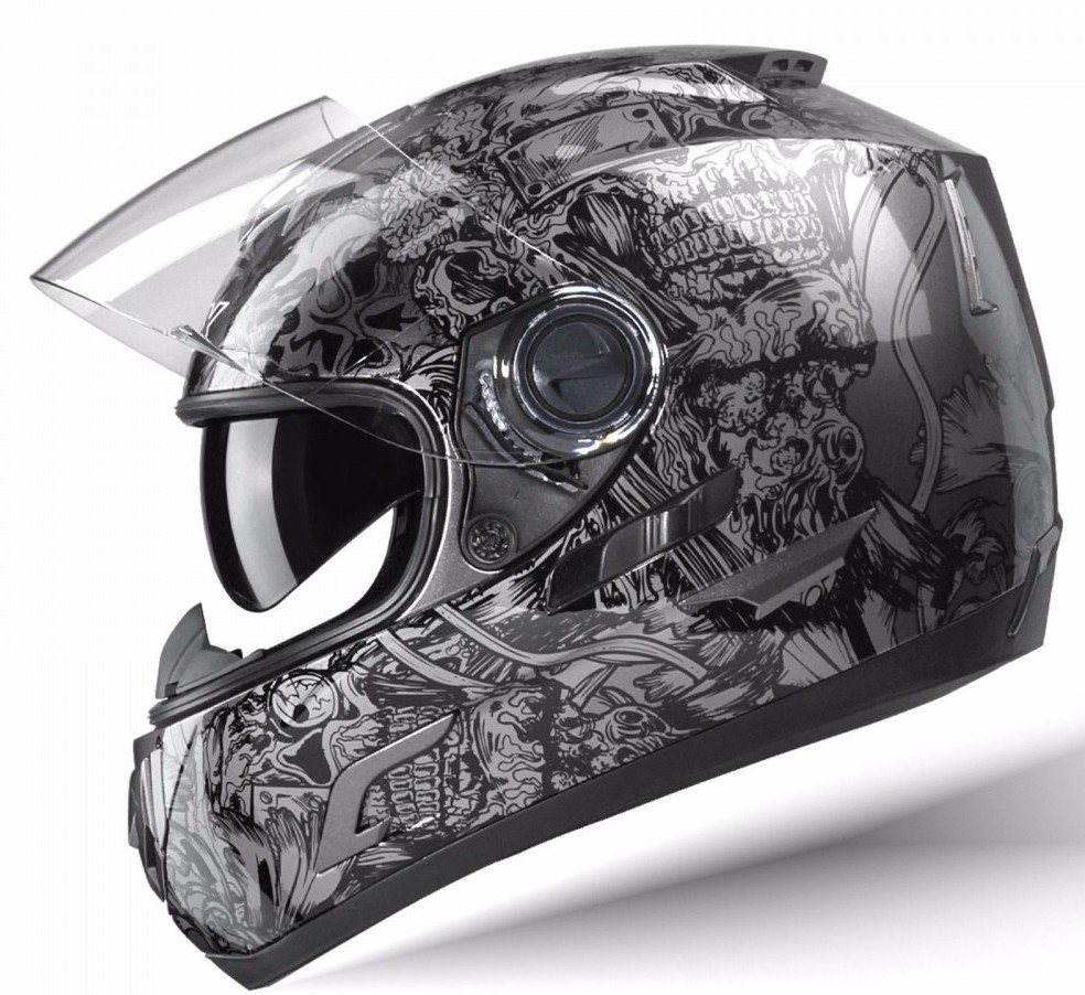 GLX Full face Helmet