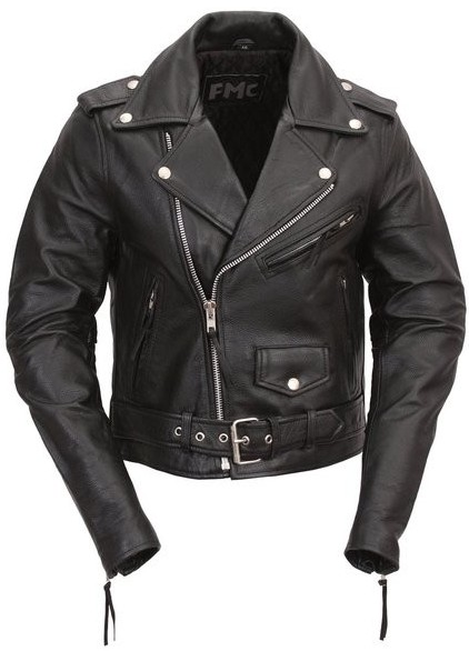 FMC Bikerlicious Leather Motorcycle Jacket