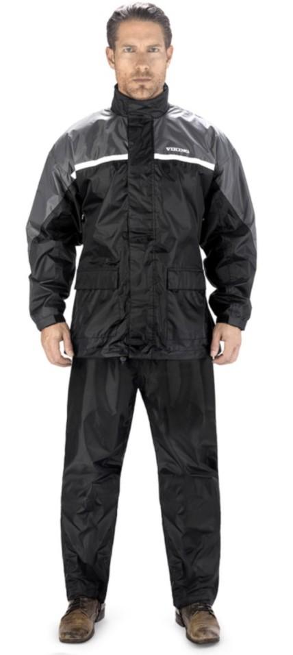 Rain gear in grey color
