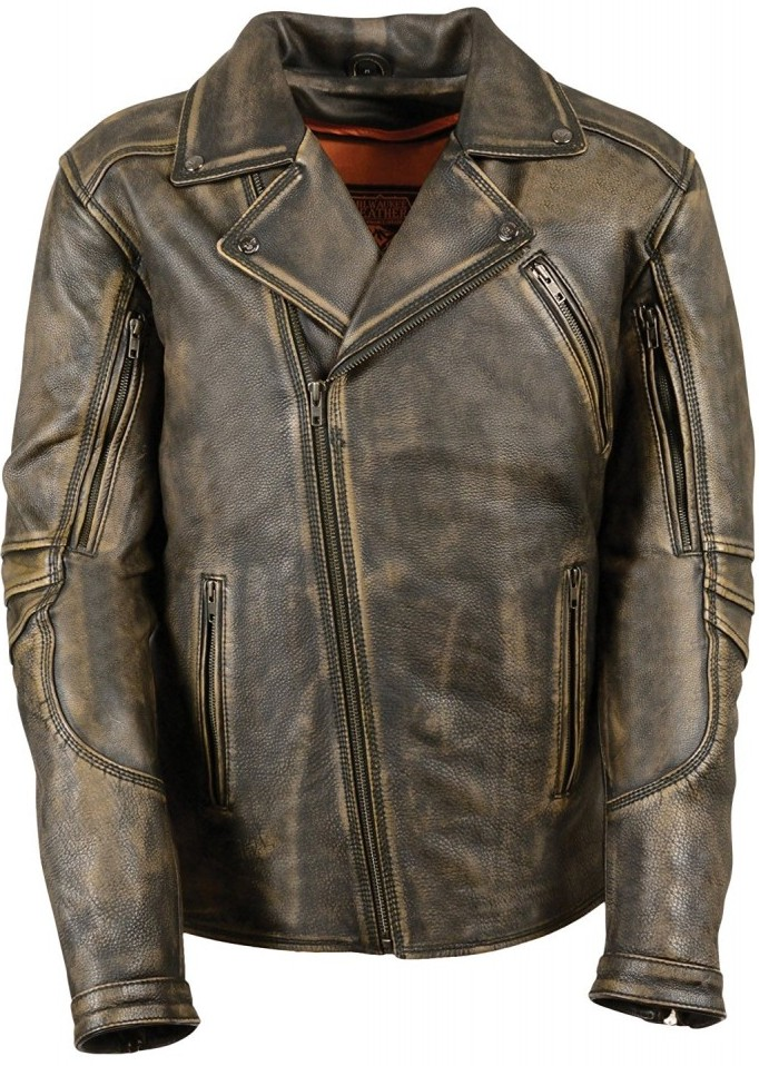 Milwaukee Men's Leather Jacket
