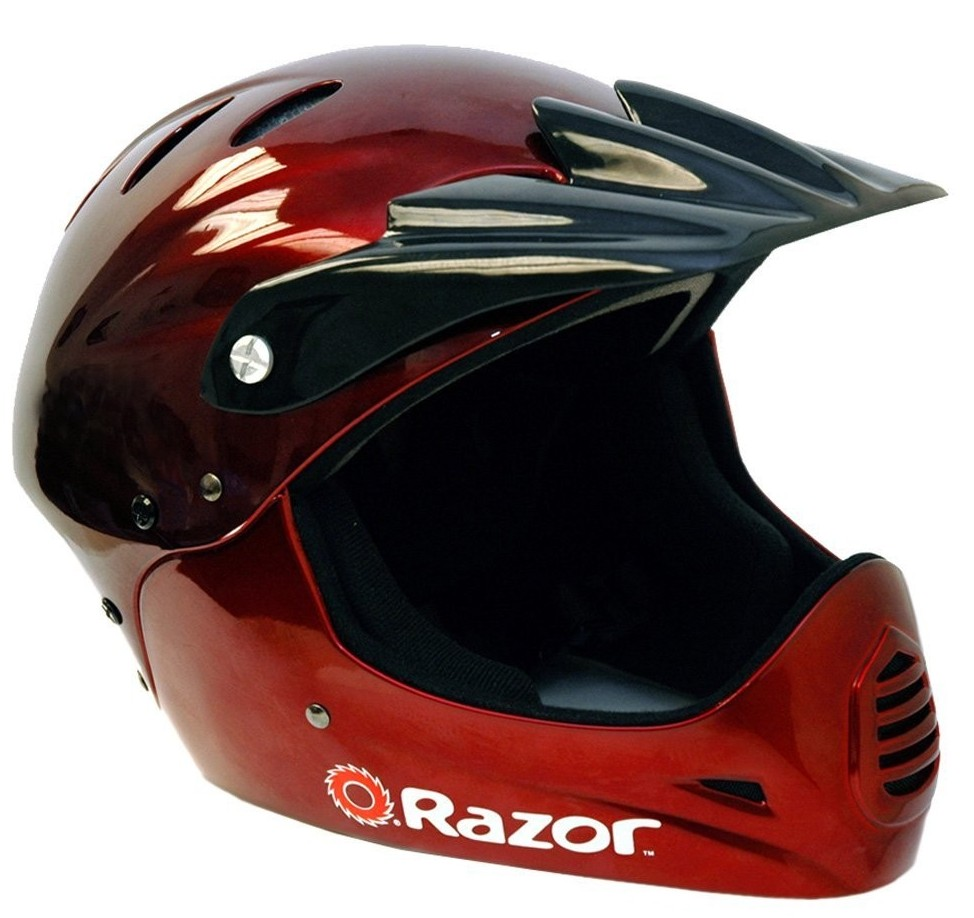 Red Razor Youth Helmet
