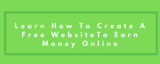learn how to create a free website