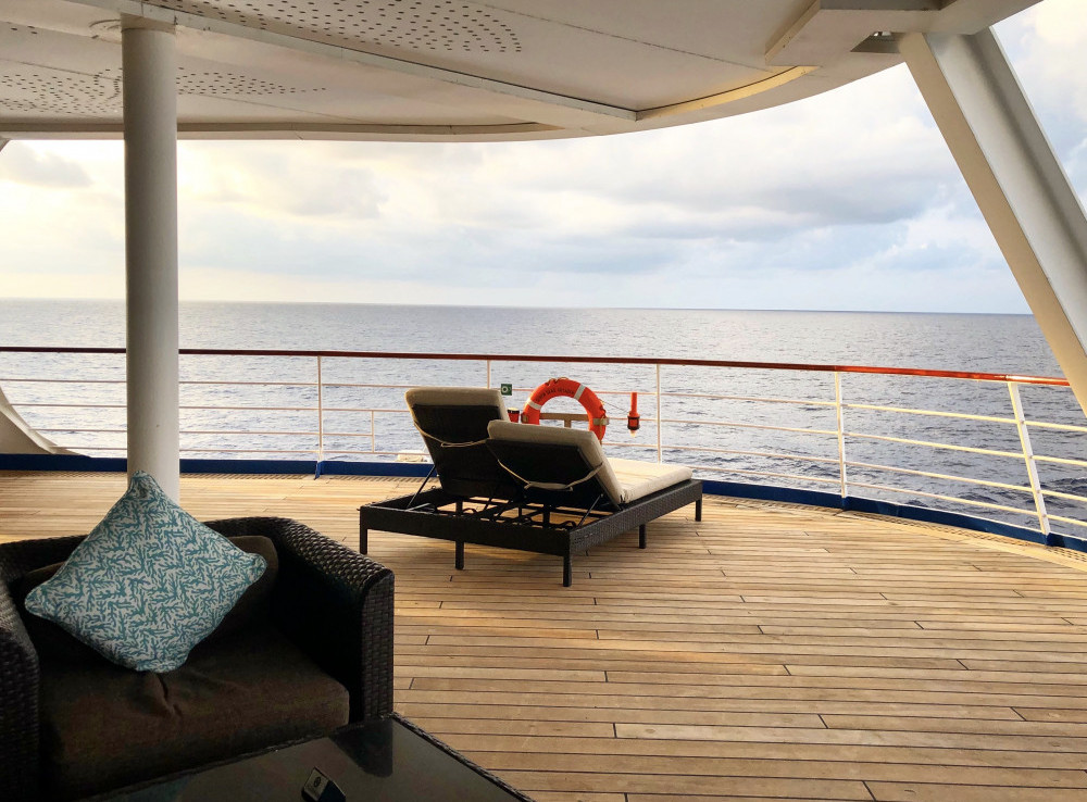 open deck seating