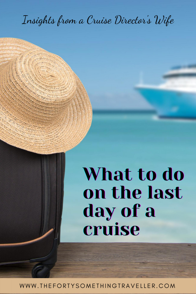 last day of a cruise