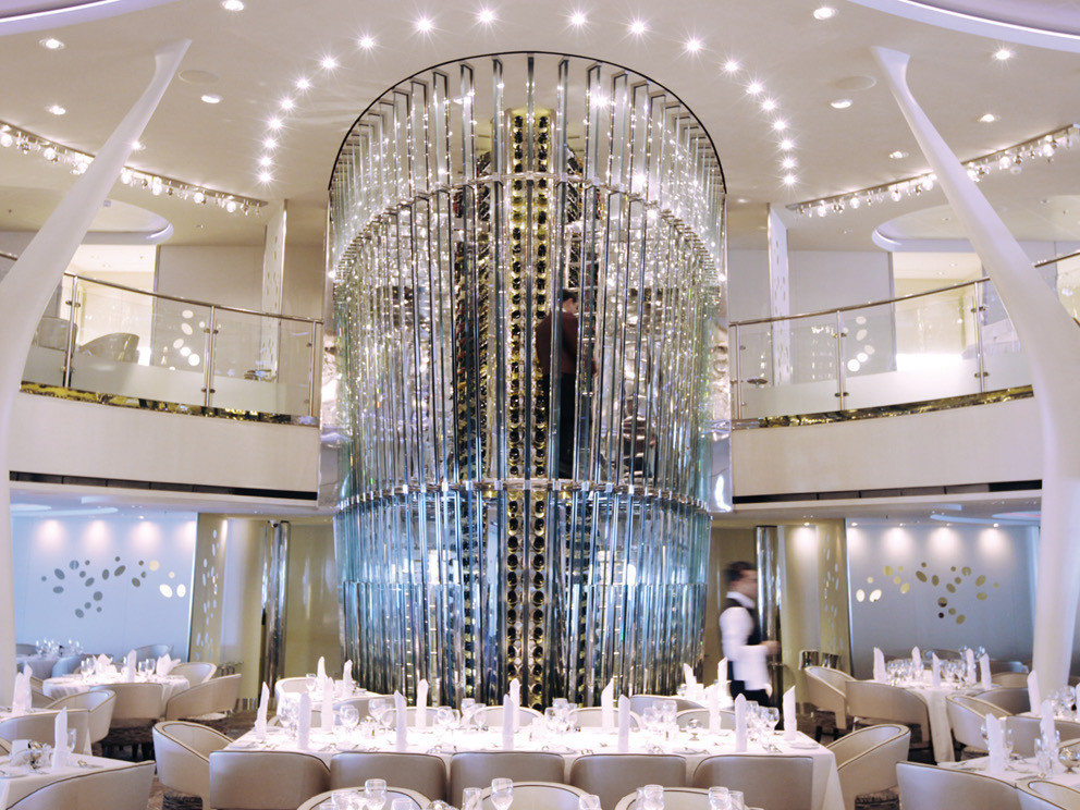 Celebrity cruises dining room