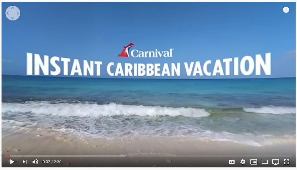 Virtual Cruise Ship Tour