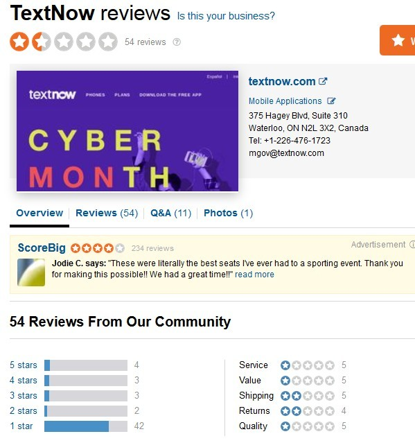SiteJabber's Reviews