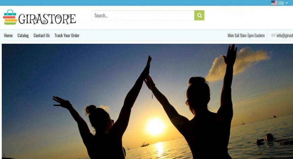 Girastor.com's Main Page