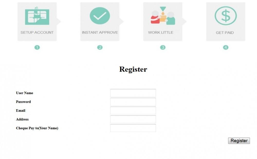 Registering Process