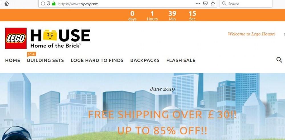 ToyVoy.com's Main Page