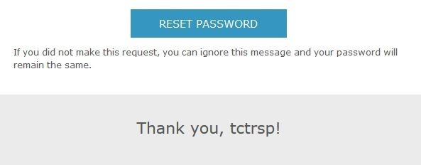 tctrsp in the email we received