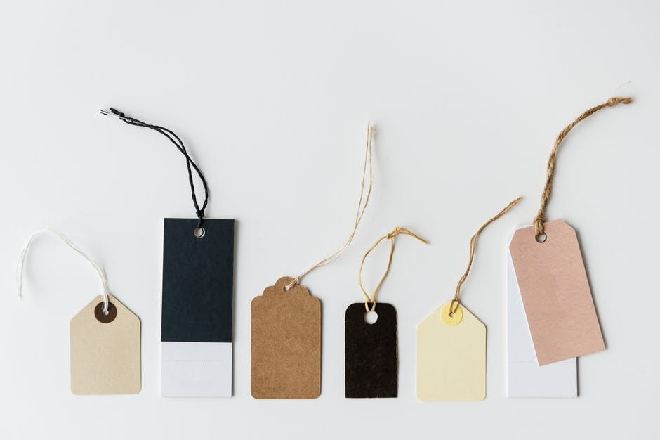 mystery tags for shopping