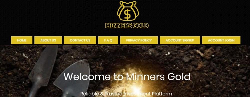 MinnersGold.com's Main Page