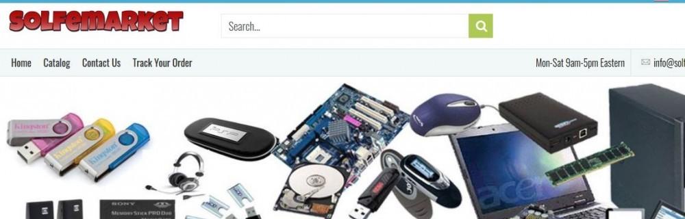 SolfeMarket.com's main page