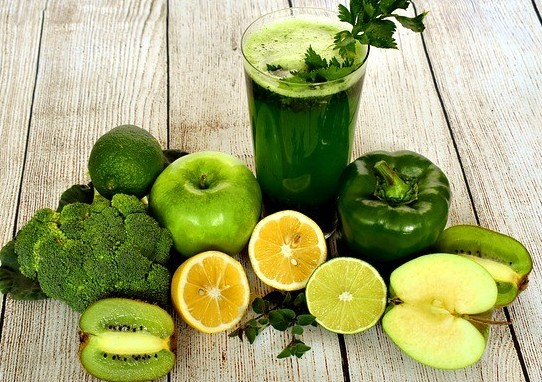 homemade green smoothie for weight loss
