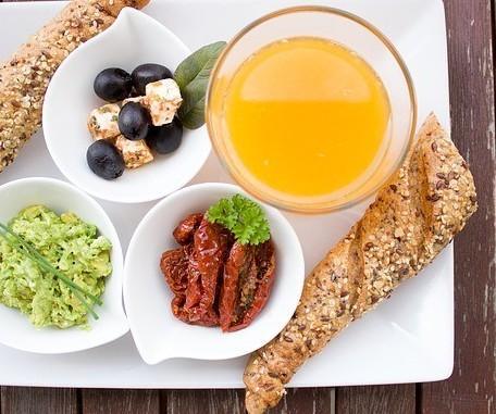healthy nutrituos meal