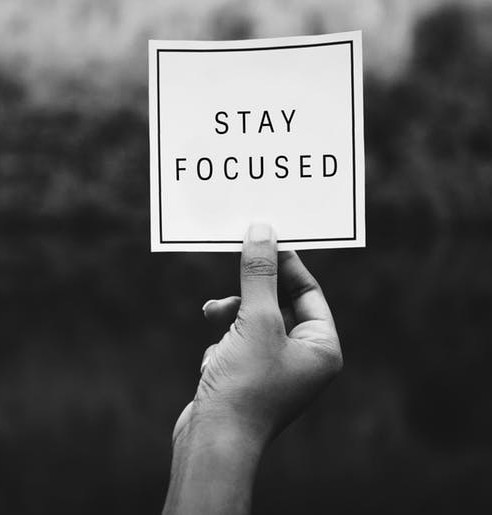 stay focused on short-term goals