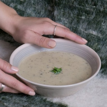 soup with brazil nuts
