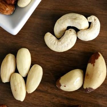 brazilian nut as a healthy meal