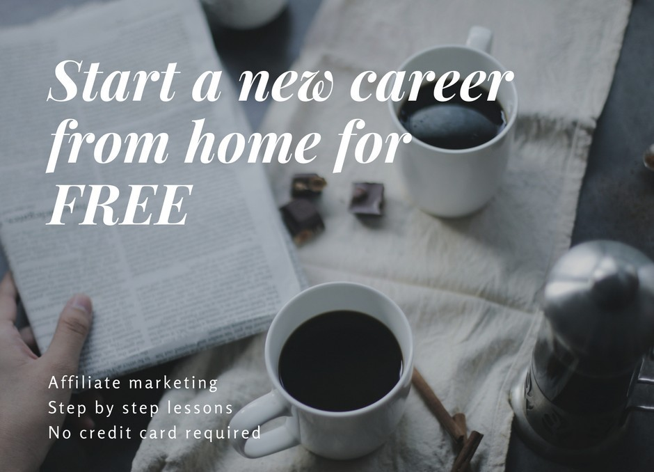 Start a new career from home