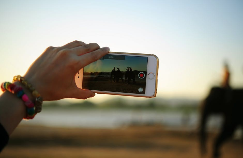 Taking videos from your phone has never been easier