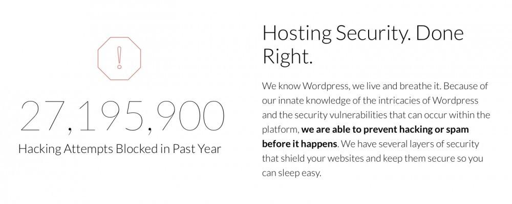 Wealthy Affiliate - secure hosting