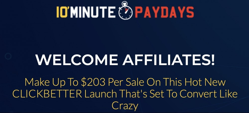 10 Minute Paydays Review