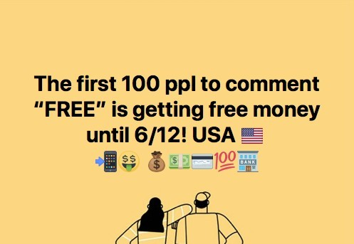 I want free money for absolutely no reason!