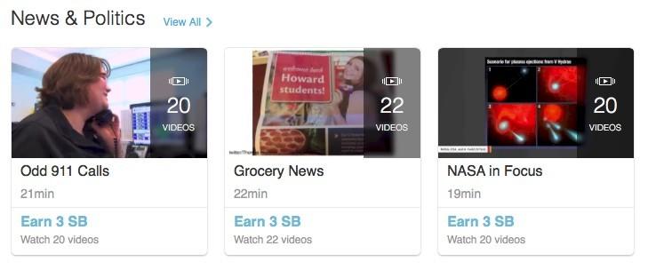 Swagbucks - watch videos and earn money