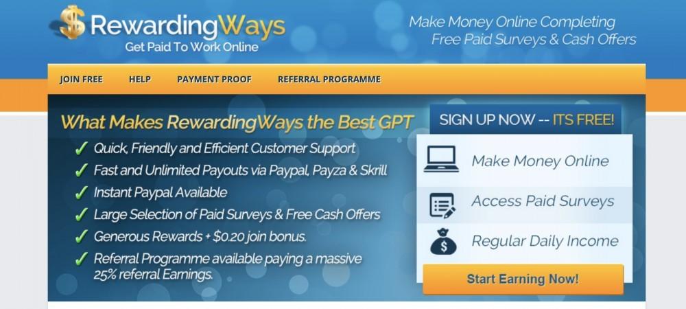 Rewarding Ways Review