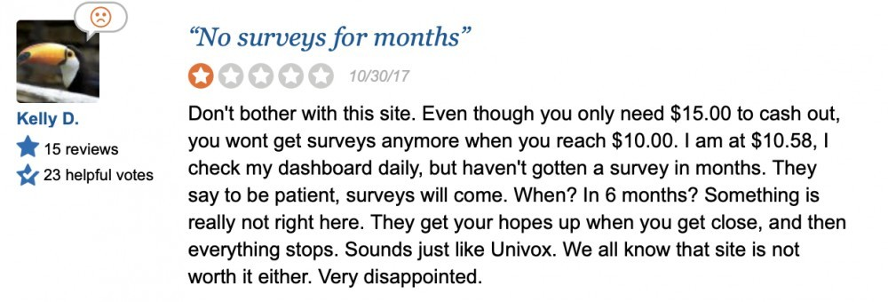 Paid Viewpoint Reviews on Sitejabber