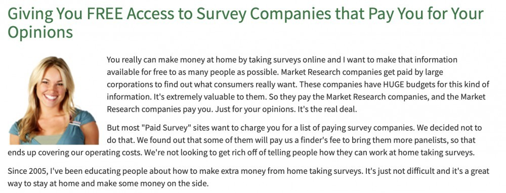Survey Money Machines scam